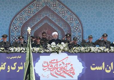 """روحانی: با عصبانیت آمریکا """"قدر موشکها"""" را بیشتر میدانیم"""