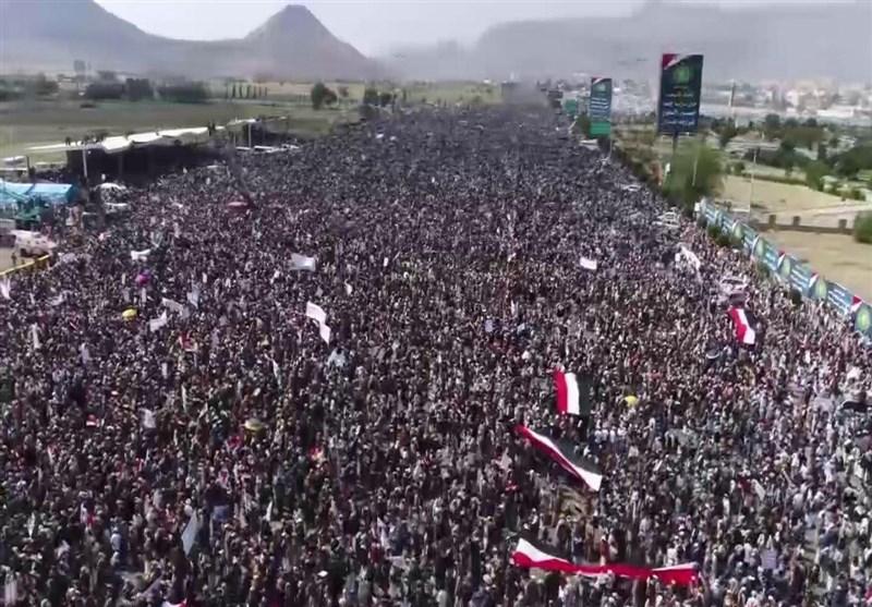 مسیرة جماهیریة کبرى فی صنعاء إحیاء لذکرى ثورة الـ 21 من سبتمبر