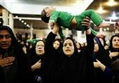 همایش شیرخوارگان حسینی در شهرستان زاهدان