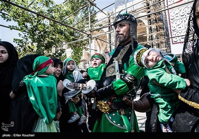 همایش شیرخوارگان حسینی در مصلی تهران