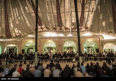 مراسم چادر کشی حسینیه قنادها- سبزوار