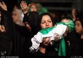 مراسم شیرخوارگان حسینی در مصلای تهران برگزار شد + تصاویر