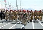 رژه نیروهای مسلح در زاهدان
