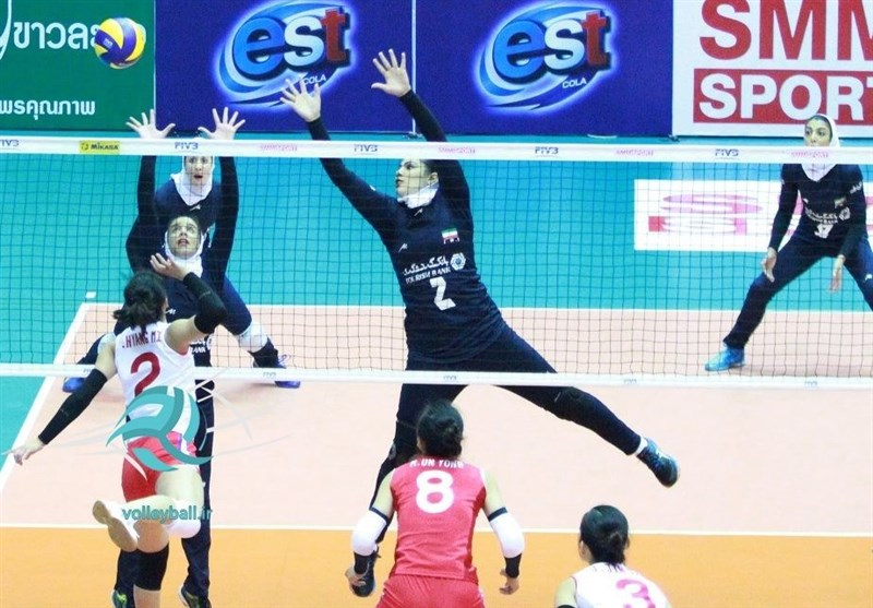 S. Korea Defeats Iran at FIVB Women's World Championship Asian Qualifiers
