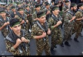 رژه نیروهای مسلح در رشت