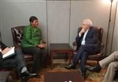 ظریف یلتقی المدعیة العامة للمحکمة الجنائیة الدولیة