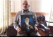 پدر شهیدان کاظم پور به فرزندان شهیدش پیوست