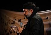 مرثیه سرایی حاج محمود کریمی در شب شهادت امام سجاد (ع) + صوت