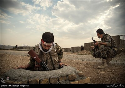 Basij Forces Receive Military Training