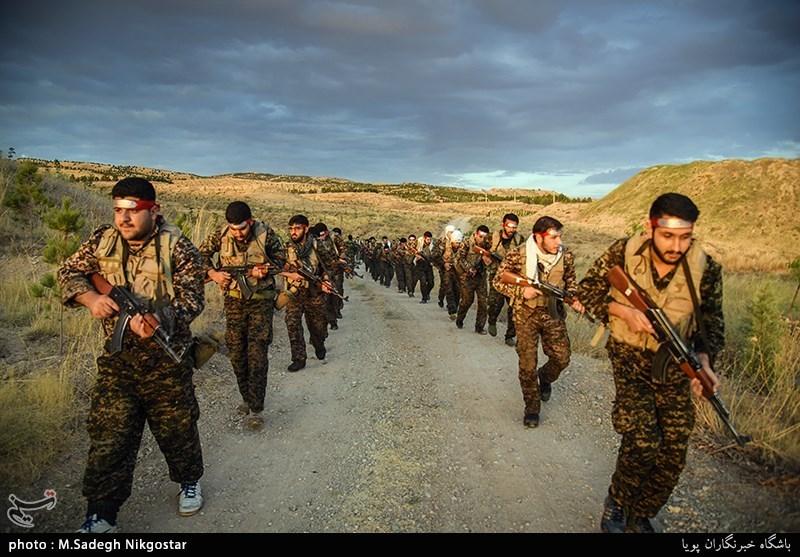 آموزش نظامی نیروهای بسیج