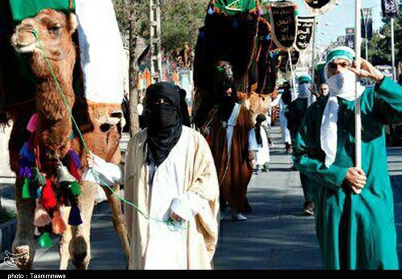 کاروان نمادین نینوا در شهر بیرجند به حرکت در میآید