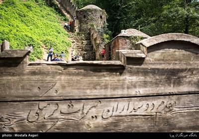 درمتون تاریخی از آن به نام های قلعه حسامی و قلعه سگسال نام برده شده است . اصطلاح مرکب قلعه رودخان برگرفته از موقعیت جغرافیایی آن می باشد