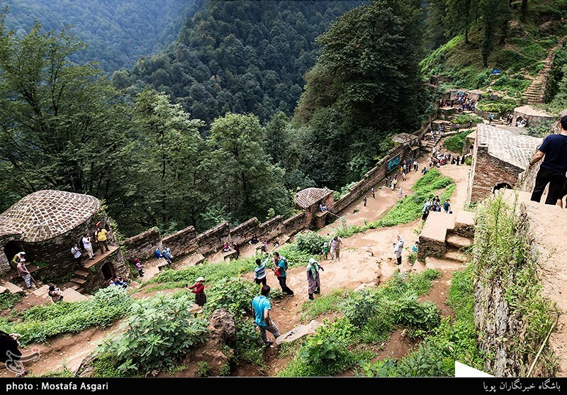 Rudkhan Castle: One of Historical Buildings in Gilan, Iran