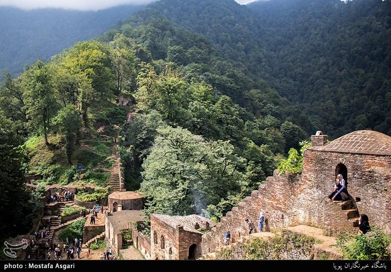 Rudkhan Castle: A Brick, Stone Medieval Castle in Iran