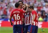 پیروزی اتلتیکو مادرید برابر سویا در متروپولیتانو