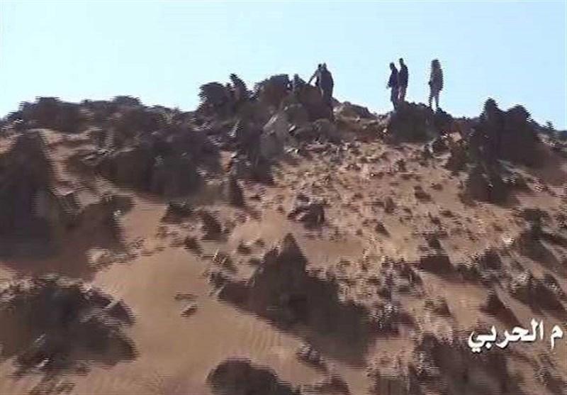 هجمات للجیش الیمنی واللجان الشعبیة على مواقع مرتزقة العدوان السعودی فی تعز والجوف