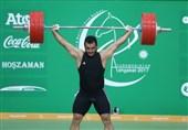وزنهبرداری گزینشی کلمبیا| ثبت رکورد 170کیلوگرم در یکضرب و مصدومیت مرادی