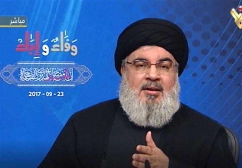 نصرالله: عربستان ۲ بار از سوریه خواست با ایران و مقاومت قطع رابطه کند