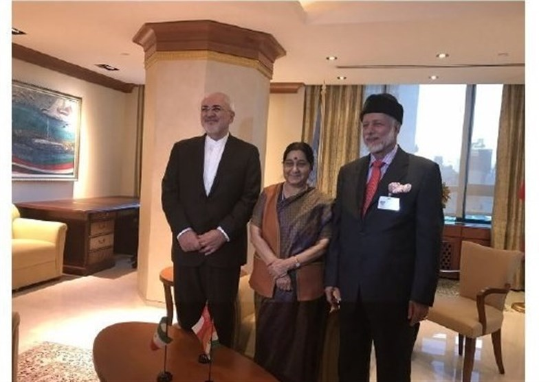 Iran, India, Oman Discuss Trilateral Ties