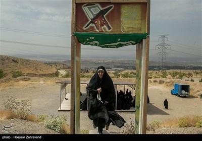 ایران؛ عوامی رضاکار خواتین بسیج فورس کی فوجی ٹریننگ