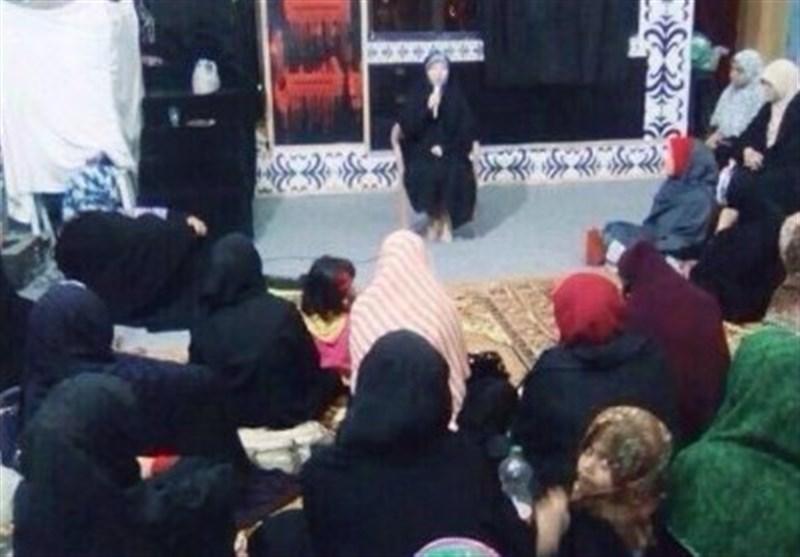 مجلس عزاء خواتین