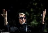 مراسم تشییع پیکر زندهیاد نادر گلچین
