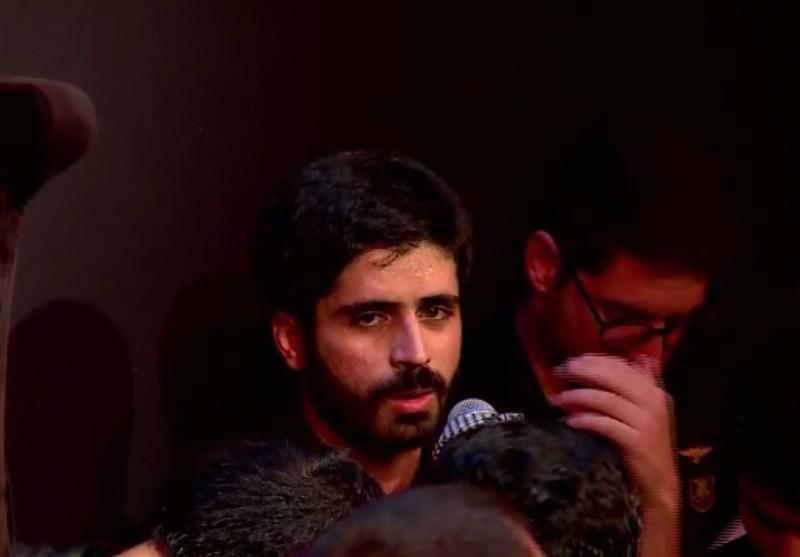 شعرخوانی محمد رسولی در شب دوم محرم الحرام 1439 + فیلم
