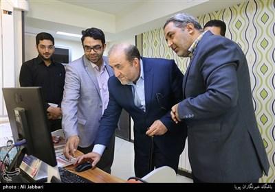 بازدید سردار خضرایی از باشگاه خبرنگاران پویا