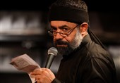 مداحی محمود کریمی در شب پنجم محرم + صوت