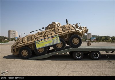 رونمایی از دستاوردهای جدید نیروی زمینی ارتش