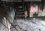 آتشسوزی در دبستان دخترانه