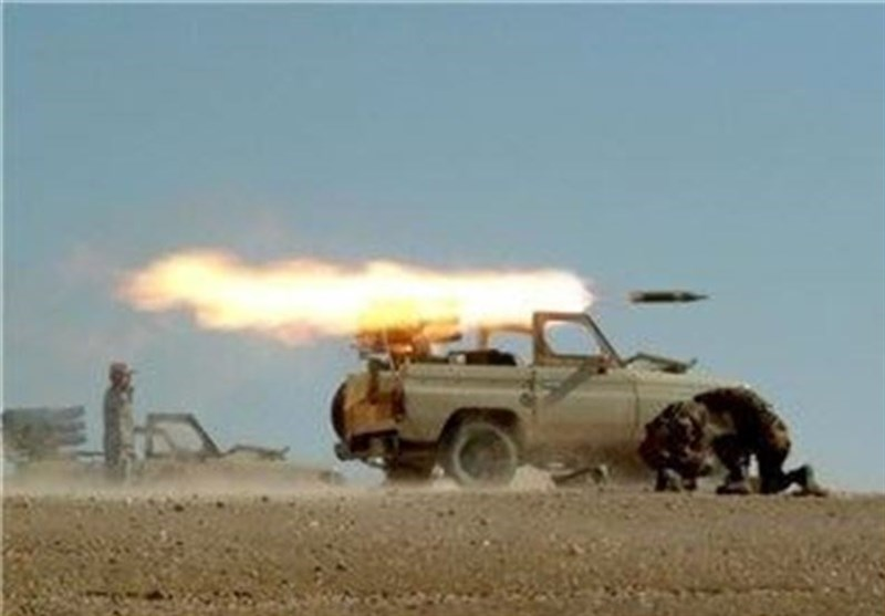 بالفیدیو..لحظة اطلاق القذائف الصاروخیة خلال مناورة حرس الثورة الاسلامیة