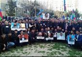 فریاد «حسین حسین شعار ماست» در باکو همزمان با فشارهای دولت آذربایجان در ماه محرم + تصاویر