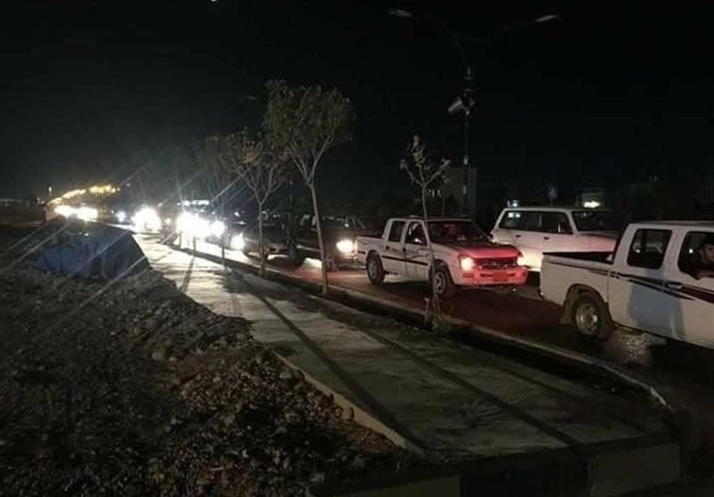 ترافیک در اقلیم کردستان در پی هجوم مردم به پمپ بنزینها