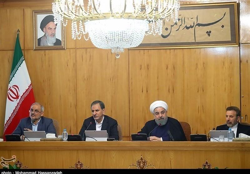 روحانی : سیتم اتخاذ القرارات المناسبة للتخفیف من معاناة المتضررین فی زلزال کرمانشاه