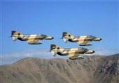 پرواز جنگندههای ارتش در مرزهای غربی کشور