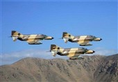 Iranian Air Force Stages Second Day of War Game