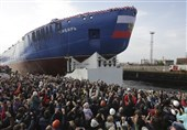 Russia Launches 'World's Biggest, Most Powerful' Nuclear Icebreaker Ship