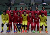 دیدار دوستانه تیم ملی فوتسال بانوان ایران و ایتالیا