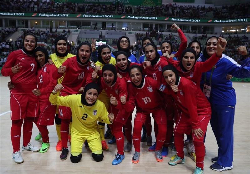 Iran Women's Futsal Team Wins Bronze at AIMAG