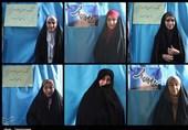"""نمایشگاه """"حجاب و عفاف"""" در پیاده راه فرهنگی رشت برگزار شد + تصاویر"""