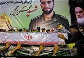 Body of Iranian Martyr Hojaji Repatriated (+ Video, Photos)