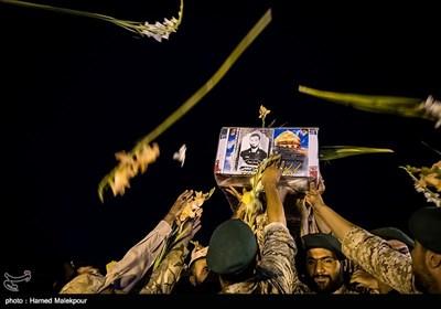 وصول جثمان الشهید حججی المدافع عن المراقد المقدسة الى البلاد