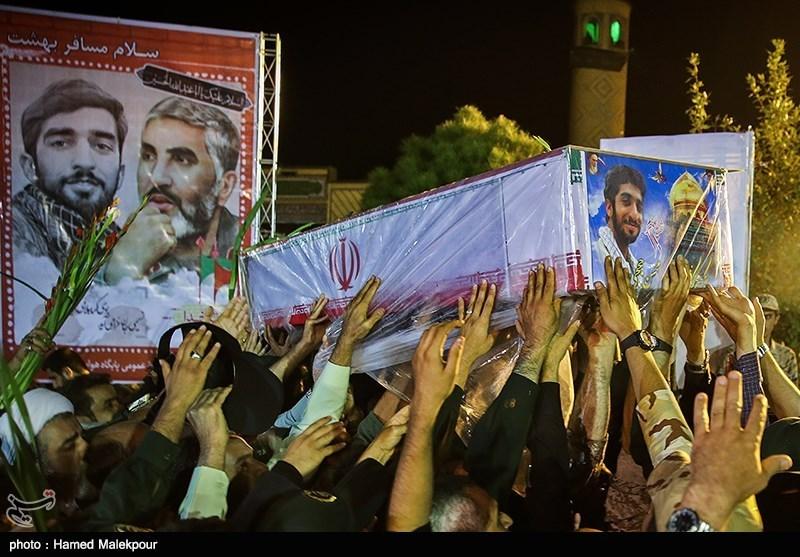 ورود پیکر شهید مدافع حرم محسن حججی به کشور