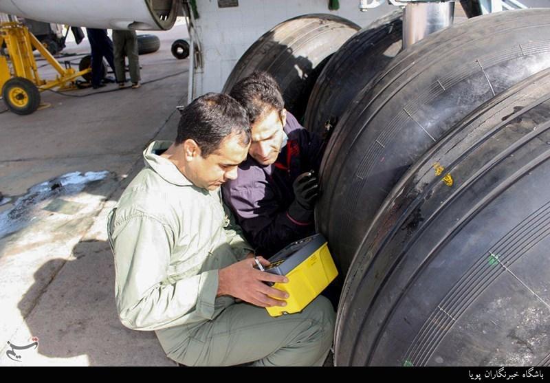 تجهیز هواپیماهای سنگین ارتش به لاستیکهای ایرانی