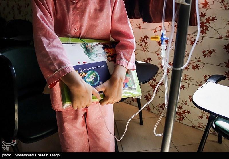 زنگ آغاز سال تحصیلی کودکان سرطانی
