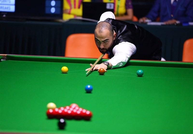 Hossein Vafaei Advances into English Open Snooker 2021