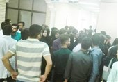 دانشجویان معترض
