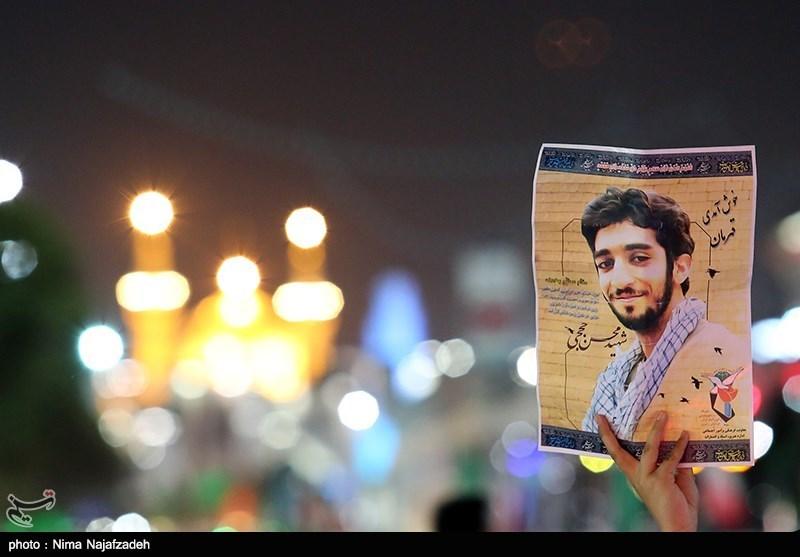 """سنگ مزار شهید """"محسن حججی"""" نصب شد + تصاویر"""