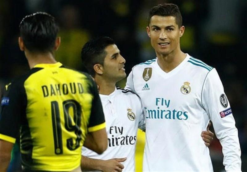رونالدو بالاتر از نیمار بازیکن برتر هفته دوم مرحله گروهی لیگ قهرمانان شد